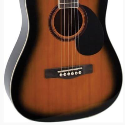 Jay Turser 3/4 Acoustic Guitar - Tob Sunburst JTA523-TSB