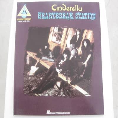 Cinderella Heartbreak Station Sheet Music Song Book Songbook Guitar Tab Tablature
