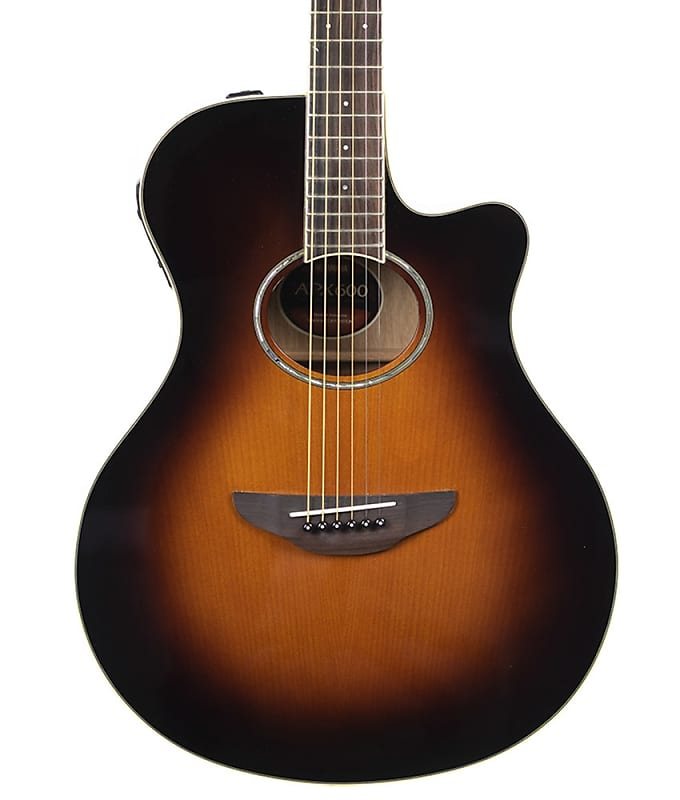 pre owned yamaha apx600 acoustic electric guitar violin reverb. Black Bedroom Furniture Sets. Home Design Ideas