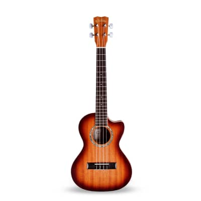 Cordoba 15TMCE-SB Cutaway Acoustic Electric Tenor Ukulele for sale