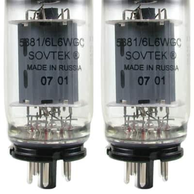 Sovtek Power Vacuum Tube, 5881/6L6WGC, Matched Pair