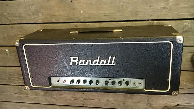 Randall RG100ES amp head | Granny Gremlin Audio | Reverb