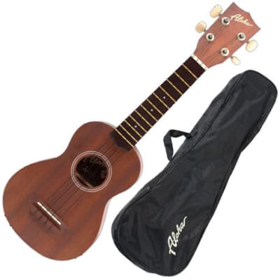 Aloha Aloha 20S Soprano +bag - Acajou for sale