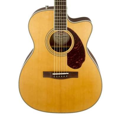 Fender Paramount Series PM-3 Standard Stika Spruce/Mahogany Cutaway Triple-0 Natural