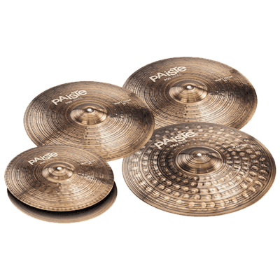 "Paiste 900 Series Heavy Box Set 14/16/18/20"" Cymbal Pack"
