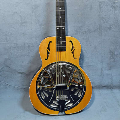 Crafters of Tennessee TN Blues 10.5 Roundneck Wooden Resonator 2001 for sale