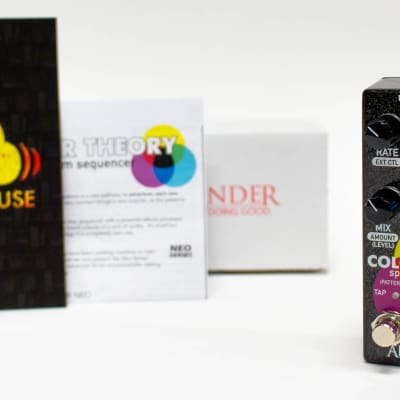 Alexander Colour Theory Spectrum Sequencer Neo Series Guitar Effect Pedal