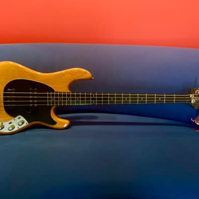 Music Man Sabre Bass with Modulus Neck 1979 Natural for sale