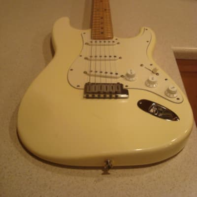 Fender 40th Anniversary American Standard Stratocaster 1994 Olympic White,Maple Fretboard for sale