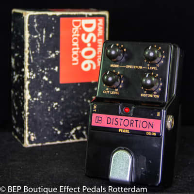 Pearl DS-06 Distortion s/n 601169 early 80's Japan for sale
