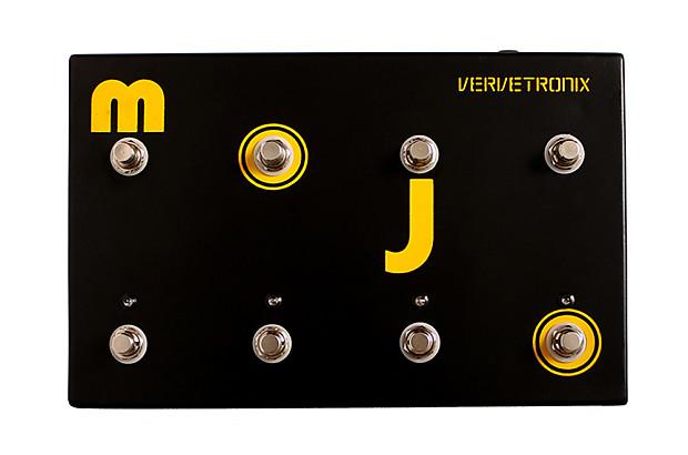 vervetronix mojo usb midi foot controller reverb. Black Bedroom Furniture Sets. Home Design Ideas