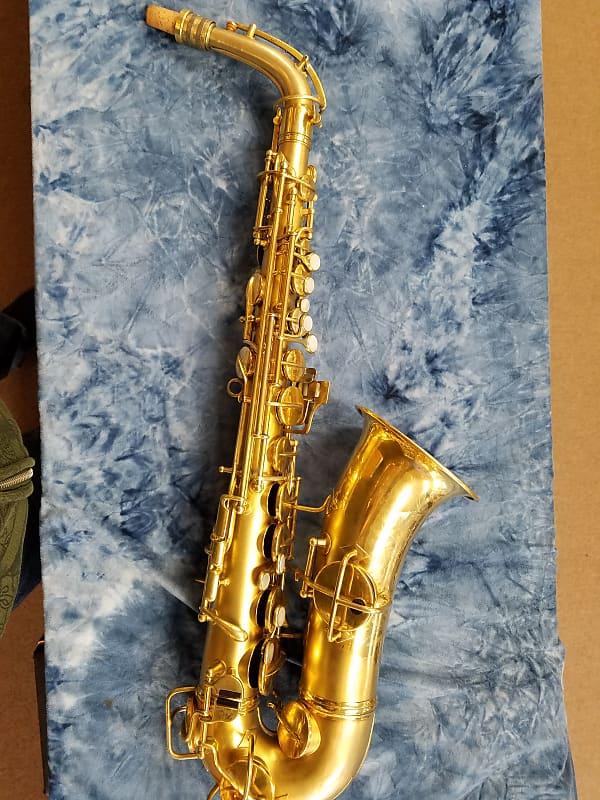 C G  Conn New Wonder Gold Plated Alto Saxophone 1922-1923