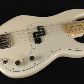 Fender Standard Precision Bass Maple Fingerboard Arctic White 3-Ply Parchment Pickguard 0146102580 (291) for sale