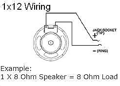 wiring diagram for guitar speaker cabinet earcandy 1x10 1x12 1x15 guitar amp speaker cab wiring ... guitar speaker cabinet wiring diagrams #3