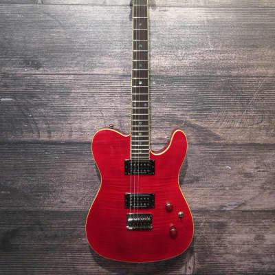Fender Special Edition Custom Telecaster FMT HH 2016 - 2018 Crimson Red for sale