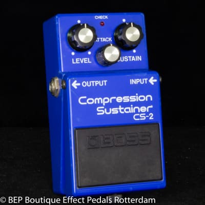 Boss CS-2 Compression Sustainer 1983 Japan s/n 333400 as used by David Gilmour, Josh Klinghoffer