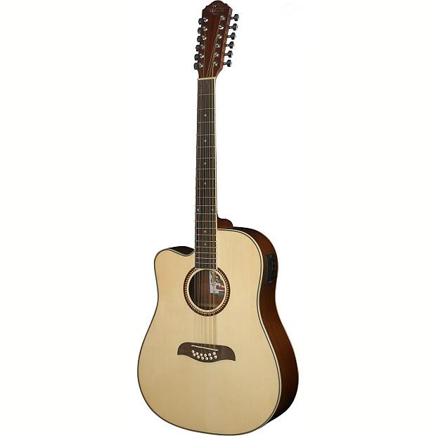 new oscar schmidt od312celh left handed 12 string acoustic reverb. Black Bedroom Furniture Sets. Home Design Ideas