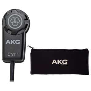 AKG C411PP Condenser Transducer Pickup Microphone