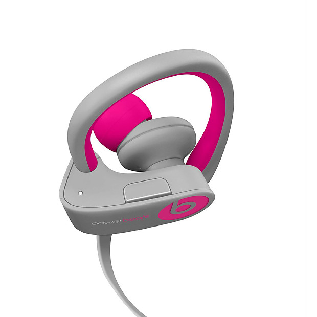 Beats by Dre Powerbeats 2 Wireless Earbuds - Pink Gray  8a86f4324f34
