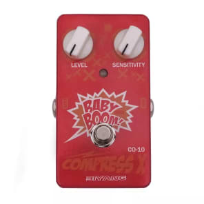 Biyang CO-10 Compress X Guitar Effect Compressor Pedal True Bypass for sale