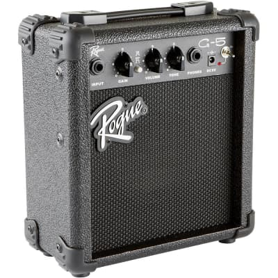 Rogue G5 5W Battery-Powered Guitar Combo Amp Regular Black for sale