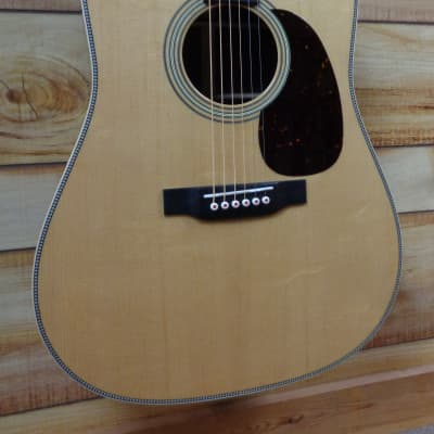 New Martin® D28 Modern Deluxe Dreadnought Acoustic Guitar Natural w/Case