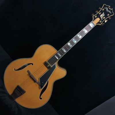 Peerless New York Archtop Electric Guitar #7907 w csae for sale