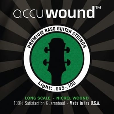 Accuwound USA Electric Bass Set Light 45-100