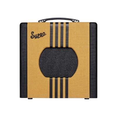 """Supro 1818 Delta King 8 1-Watt 1x8"""" Guitar Combo, Tweed"""