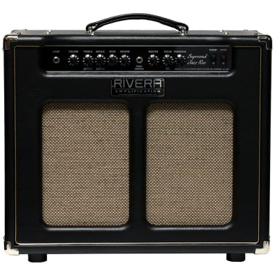 "Rivera Suprema Jazz Recording 25W 1×12"" Guitar Combo Amplifier Celestion Speaker"