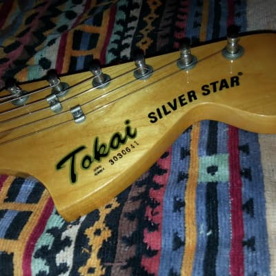 Tokai silver star 50 1984 red for sale