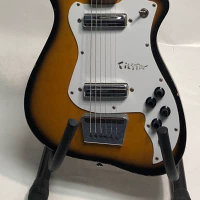 Alamo Fiesta 2 pickup 1960 2-tone sunburst for sale