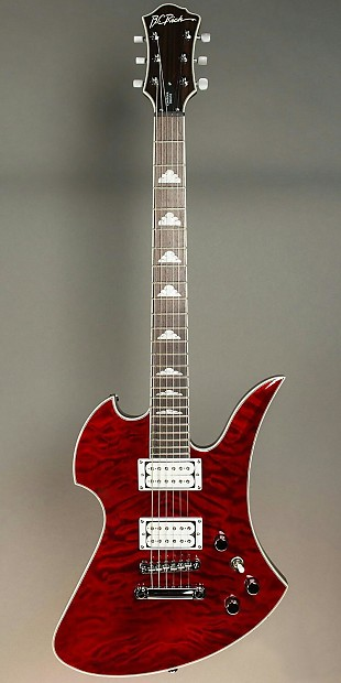 BC RICH Mockingbird Contour Deluxe electric guitar, Trans ...