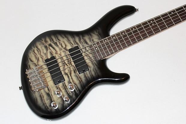cort action series v dlx 5 string electric bass guitar reverb. Black Bedroom Furniture Sets. Home Design Ideas