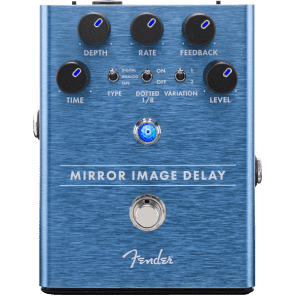 Fender Mirror Image Delay - 0234535000  2018 Blue for sale