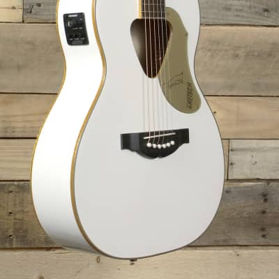 Gretsch G5021WPE Rancher Penguin Parlor Acoustic/Electric White for sale