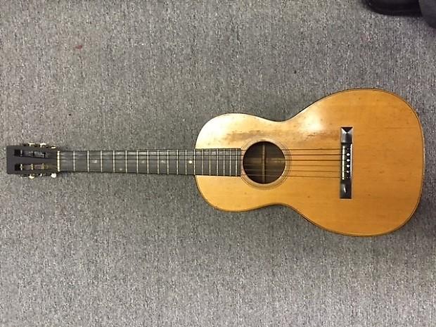 C F  Martin Parlor Acoustic Guitar 1891 Brazillian Rosewood & Spruce