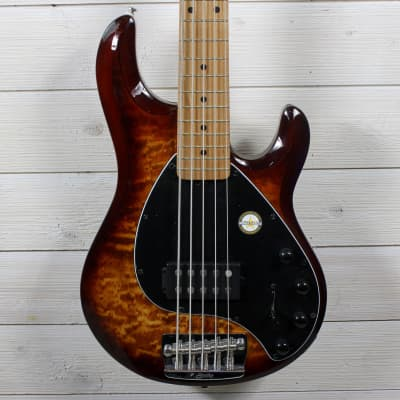 Sterling Sterling StingRay Ray35QM Bass Island Burst for sale
