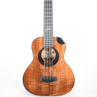 Kanile'a WILLIEK-ST5 : Willie K. Signature 5-String Premium Curly Hawaiian Koa Super Tenor Ukulele for sale