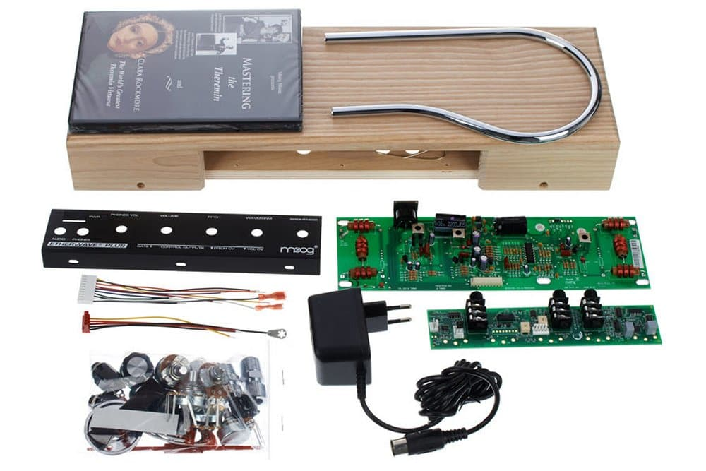 moog etherwave standard theremin plus kit the midi store reverb. Black Bedroom Furniture Sets. Home Design Ideas