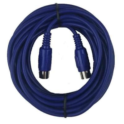 Cable Up CU//MD225 25/' MIDI Male to MIDI Male Premium MIDI Cable