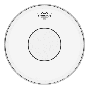 """Remo Powerstroke 77 Clear Top Clear Dot Drum Head 14"""""""
