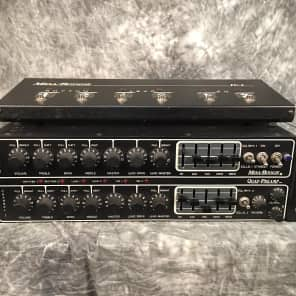 Mesa Boogie Quad Preamp with FU-2A Footswitch 1980s
