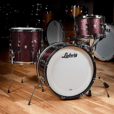 Ludwig Limited Edition Club Date Chicago Drum Exchange Exclusive Drum Set 2019