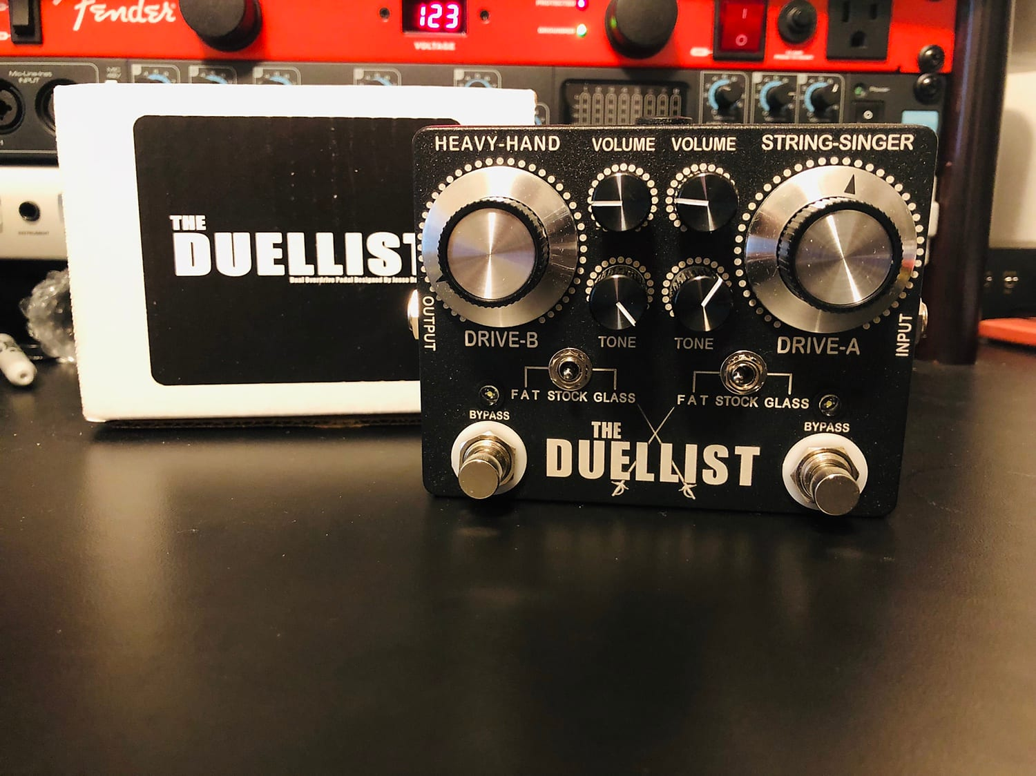 King Tone Guitar The Duellist    ** Authorized Dealer **  FREE Priority Shipping   *IN STOCK!!