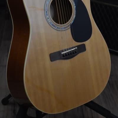 Samick Greg Bennett Design D-2 Acoustic Guitar Natural Gloss for sale
