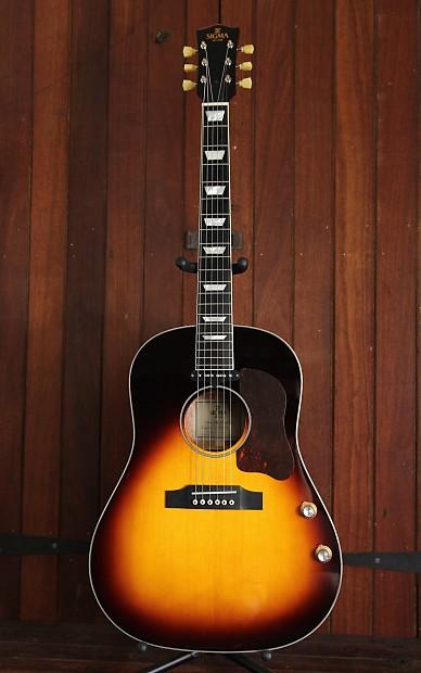 Jm Auto Sales >> Sigma JM-SG160E Dreadnought Acoustic-Electric Guitar | Reverb
