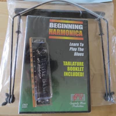 Kay Instructional DVD & Harmonica Holder