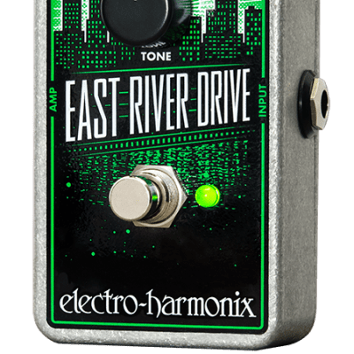 New Electro-Harmonix EHX East River Drive Overdrive Effects Pedal!