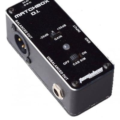 Tomsline Matchbox Active Direct Box Effects Pedal AMX-3